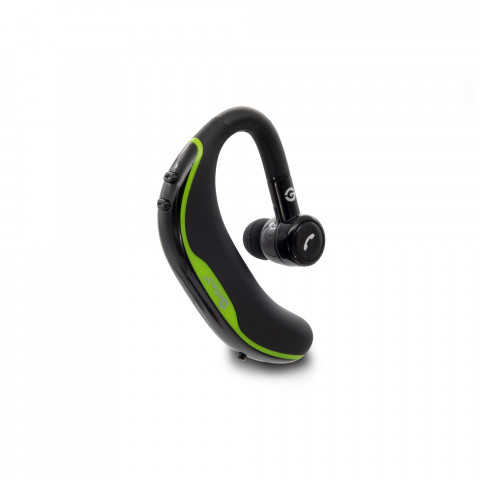 HANDSFREE HEADSET GETTTECH INTUNE GAI-29901V, BLUETOOTH, WIRELESS, WITH MICROPHONE, GREEN (GAI-29901V)