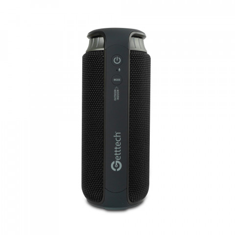 GETTTECH PORTABLE SPEAKER SOUNDCUP BEAT BLUETOOTH 4.2 WATER RESISTANT (IPX4),X-BASS USB 2.0 4000MAH BLACK (GBS-31504N)